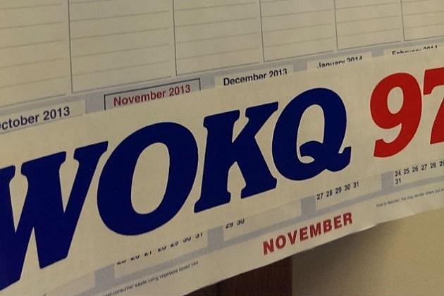 WOKQ Fun And Games Department Official Calendar