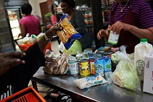 Food Bank supplies
