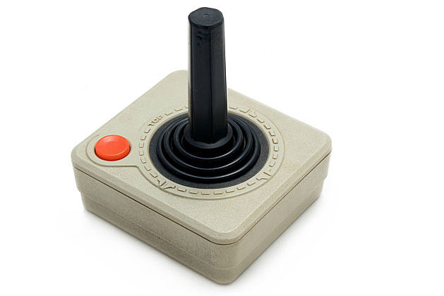 Old Video Game Joystick