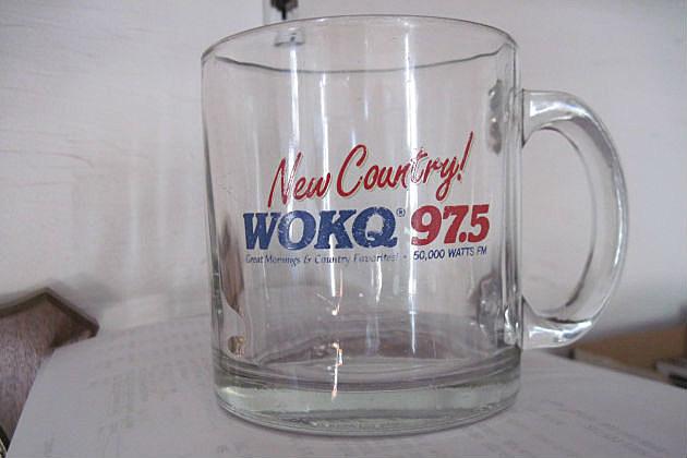 1980's WOKQ Coffee Mug