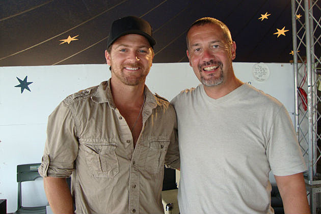 Kip Moore and MJ
