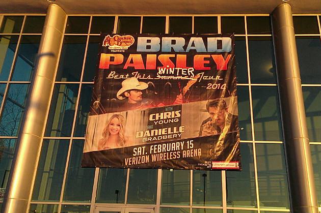 Brad Paisley at the Verizon!