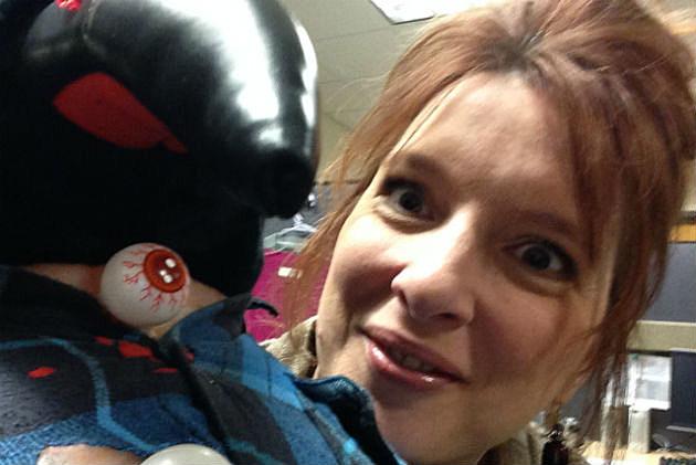 Karen with Zombie