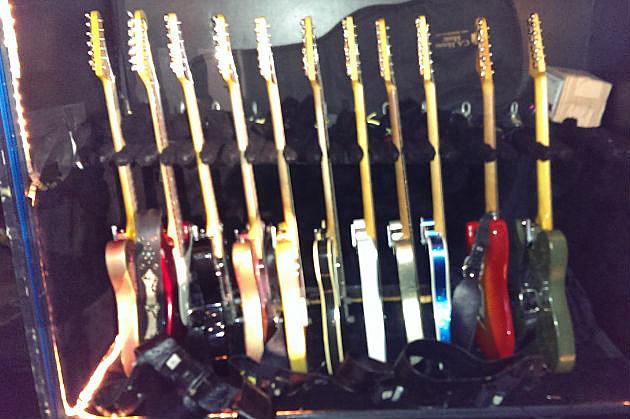 Brad's guitars!