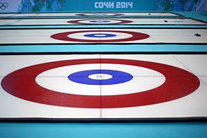 Curling ice