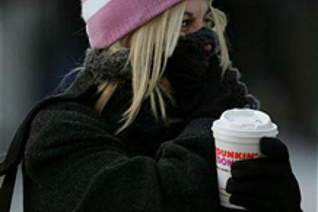 Dunkin In The Cold