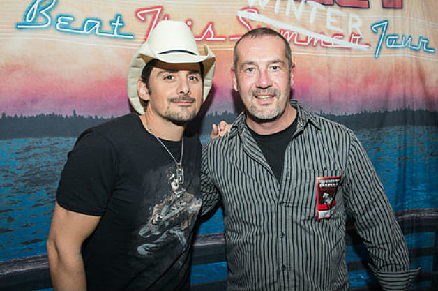 Brad Paisley and Mark Jennings