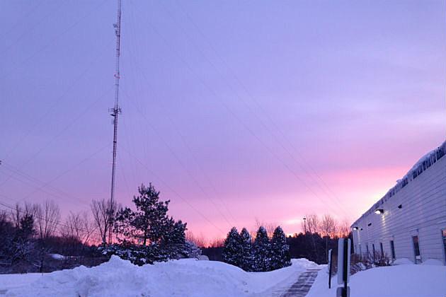 Sunrise at WOKQ