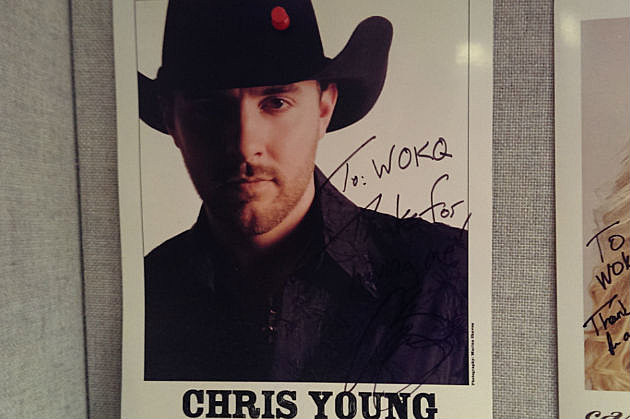 Chris Young in Studio Big!