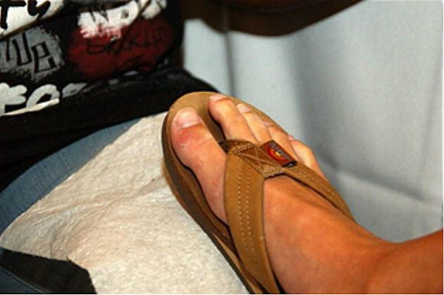 Man's Foot