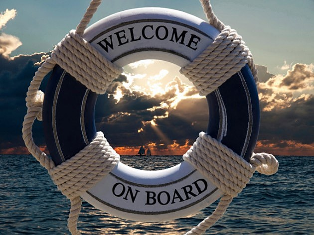 welcome on board boat