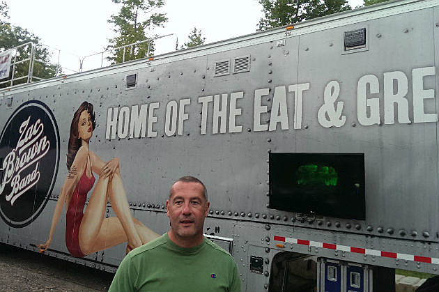 Zac Brown Band Chef's truck