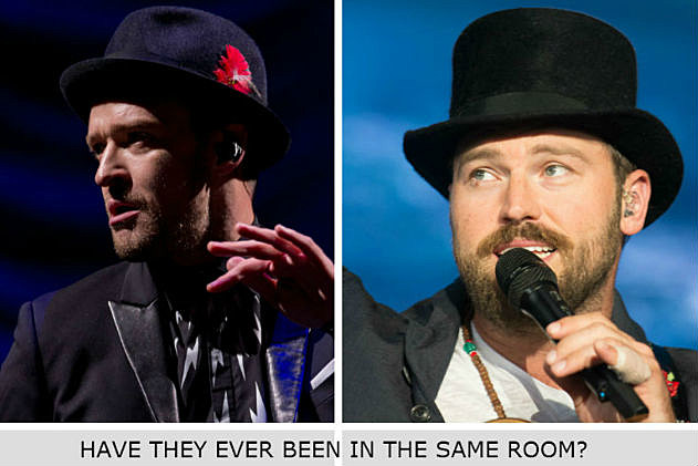 Zac Brown and Justin Timberlake