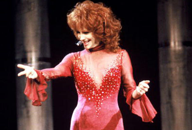 Reba Red Dress Pictures 48
