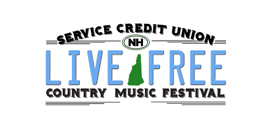 live free country music logo