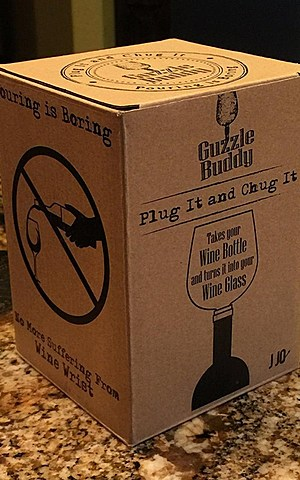 Guzzle Buddy box