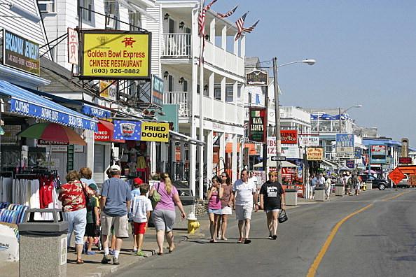 NEW Hampshire Hampton Beach tourists