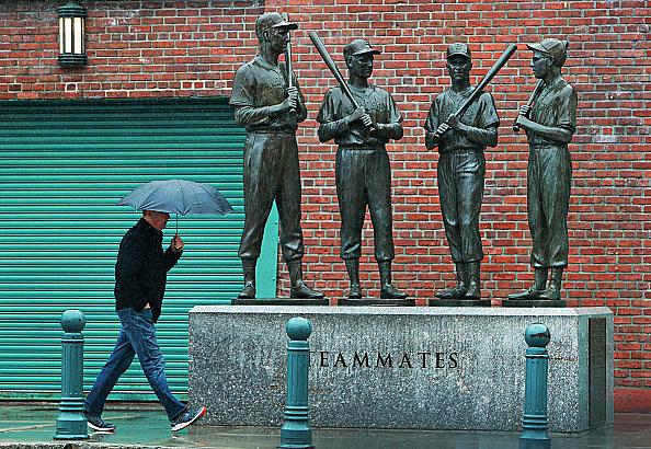 Rain Postpones Boston Red Sox Game
