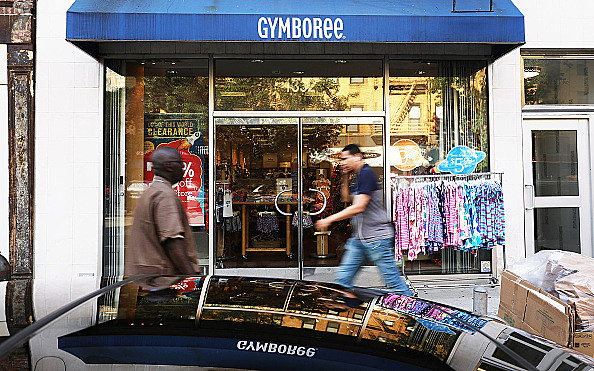 Kids Retailer Gymboree Files For Bankruptcy Protection