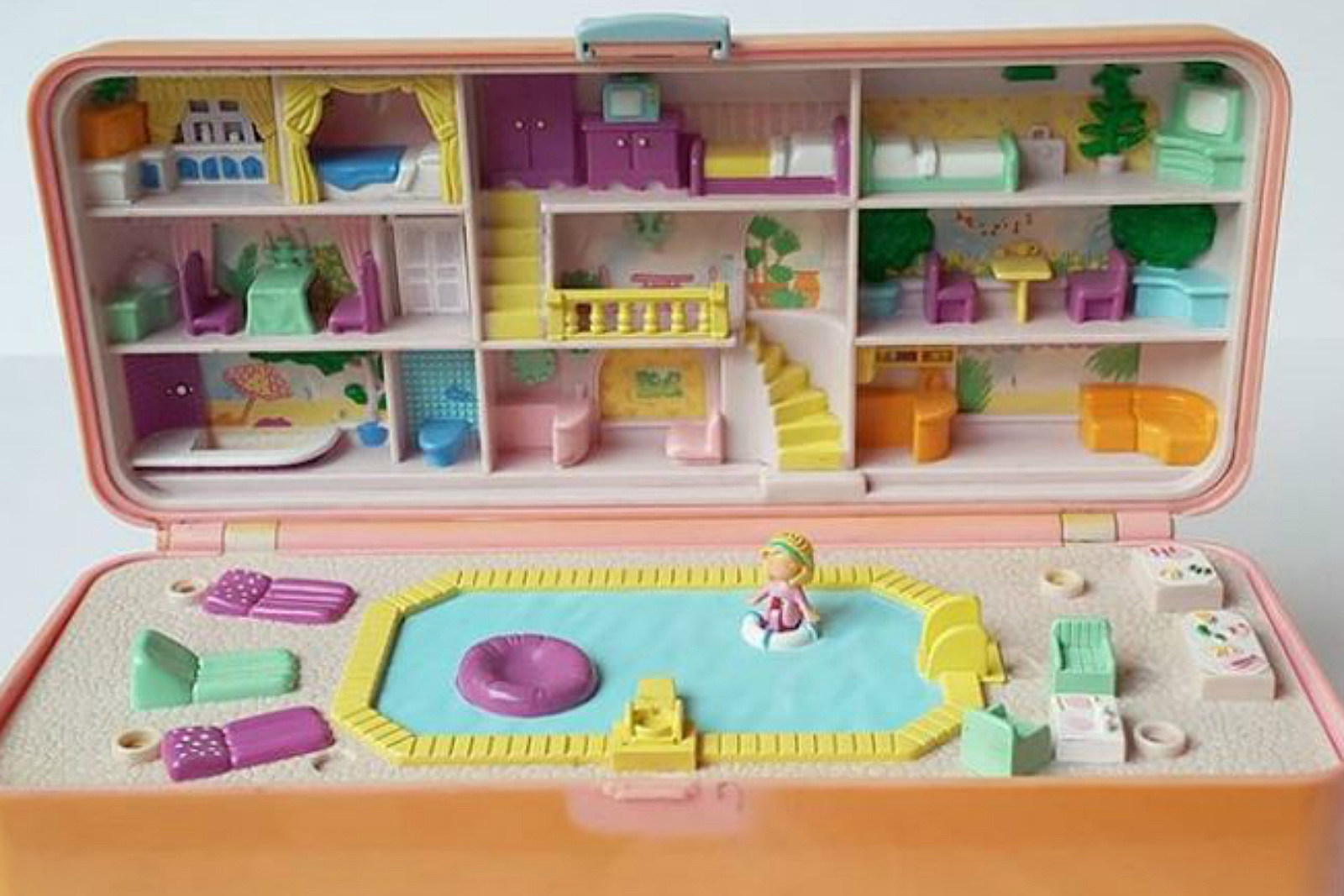 polly pocket shopping mall